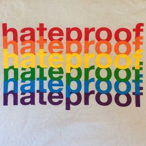 Hateproof Gay Pride T-Shirt - Size L